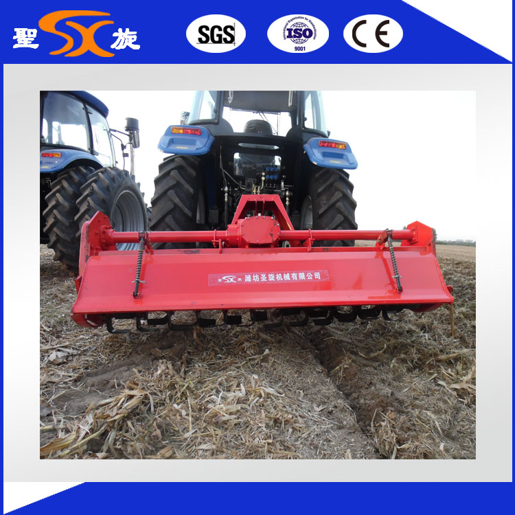 Farm Side Transmission Rotary Stubbling Tiller with Ce SGS