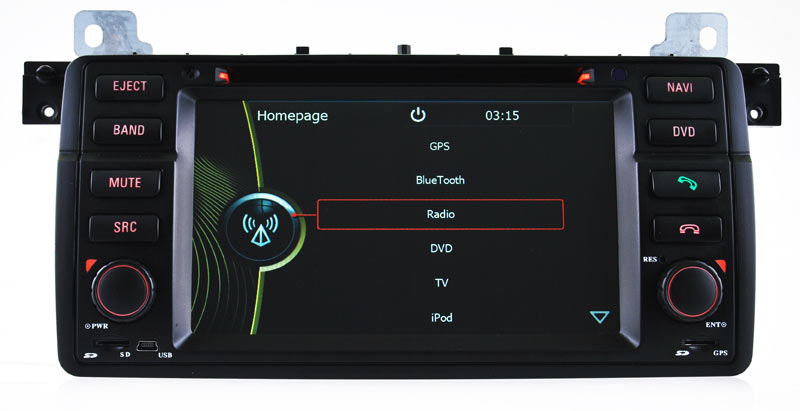 Car Radio for BMW 3 Series (E46) GPS Navigation