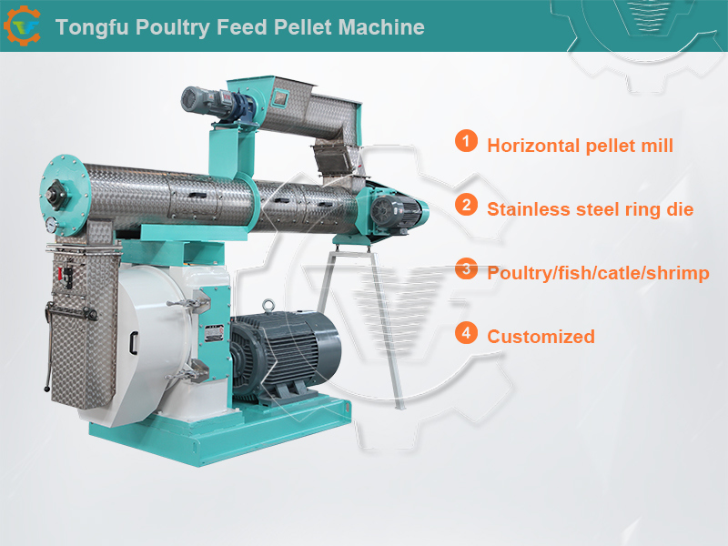 Aquaculture Fish Feed Pellet Making Machine Price for Sale