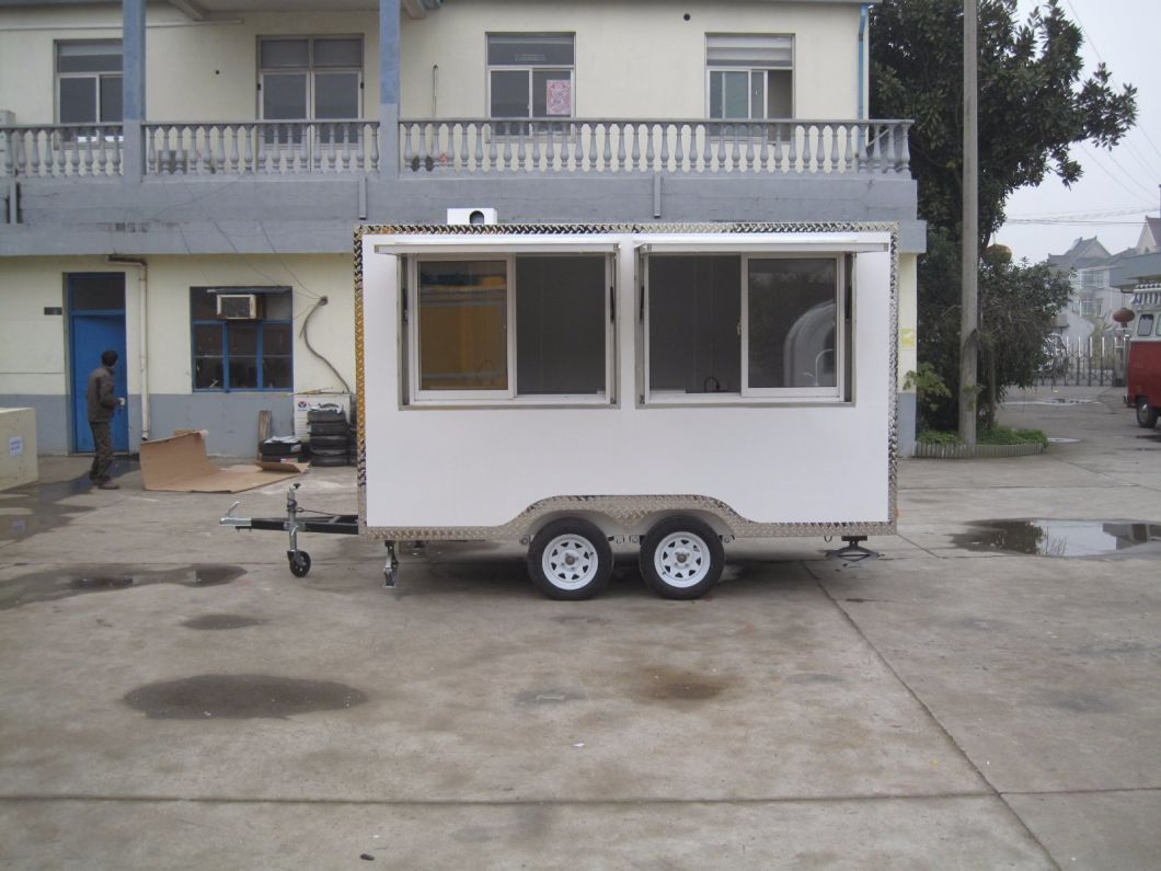Small Mobile Food Trailer / Food Van for Sale, High Quality