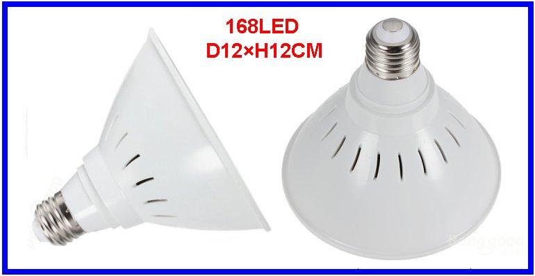 168LED AC110/220V 10W R: B: O=102: 54: 12 Plastic Potted Spectrum Grow Light