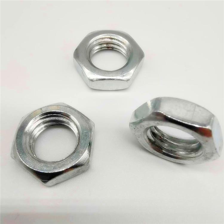 hexagonal nut and bolt