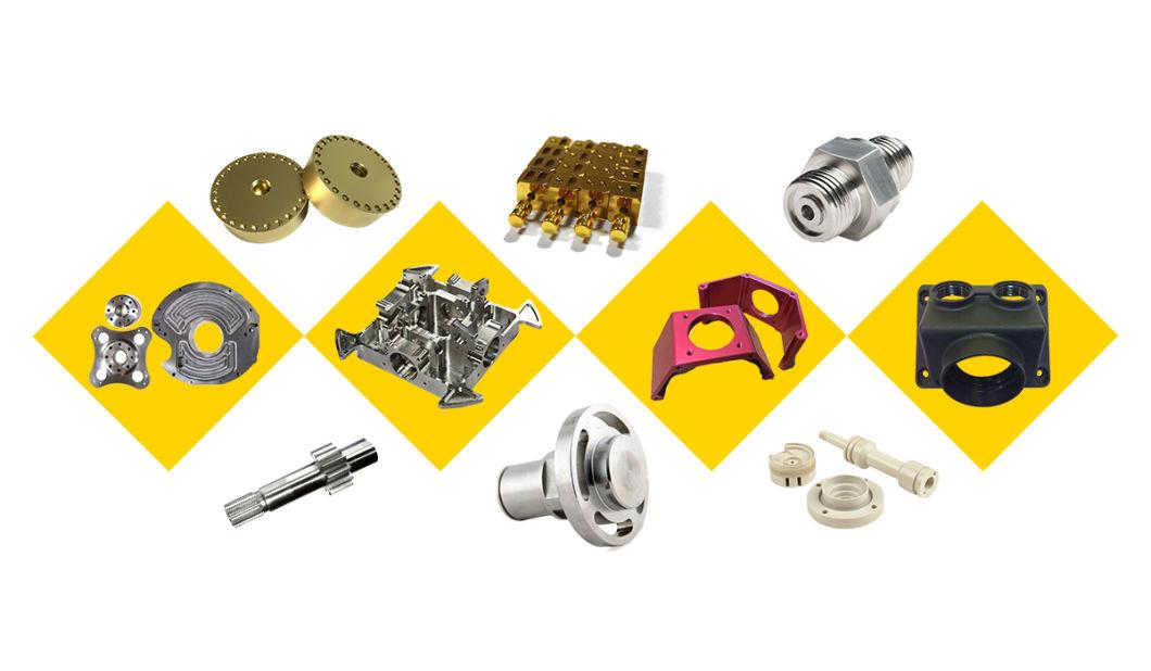 Aluminium Turned Parts Cheap CNC Machining Service