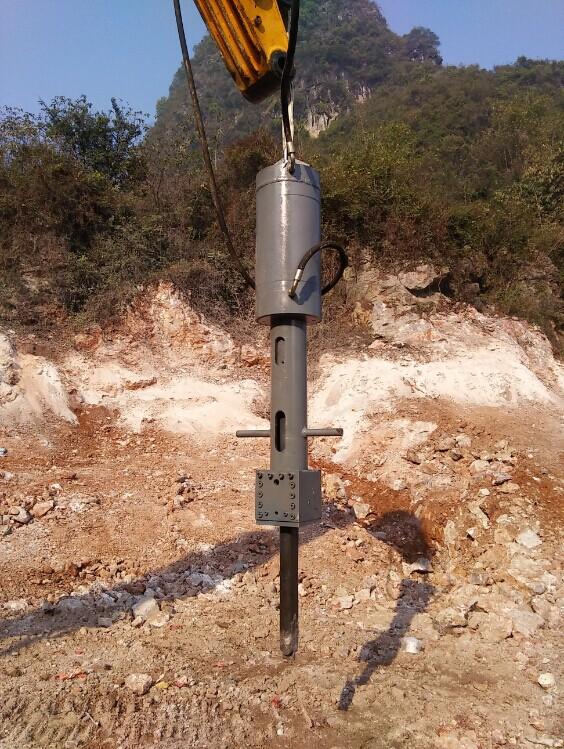 Excavator Hydraulic Rock Splitter