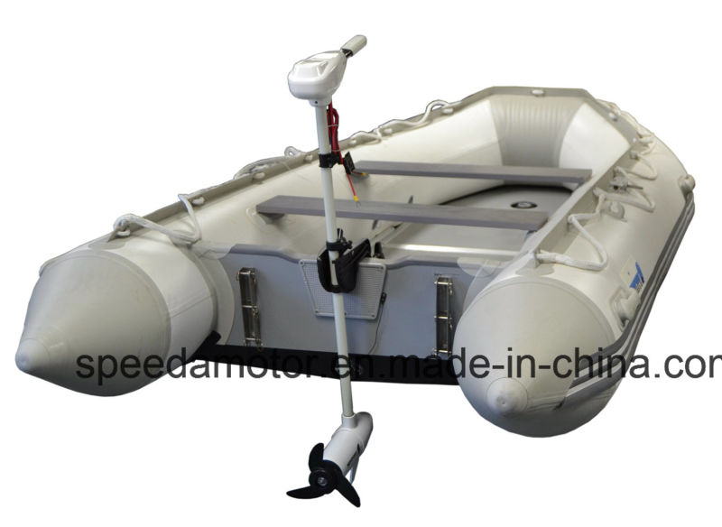Durable 12V 40lbs Thrust 8 Speed Electric Fishing Boat Motor