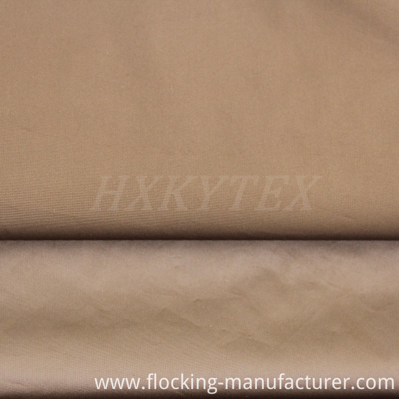 390t Shadow Stripe Polyester Pongee Fabric for Casual Jacket