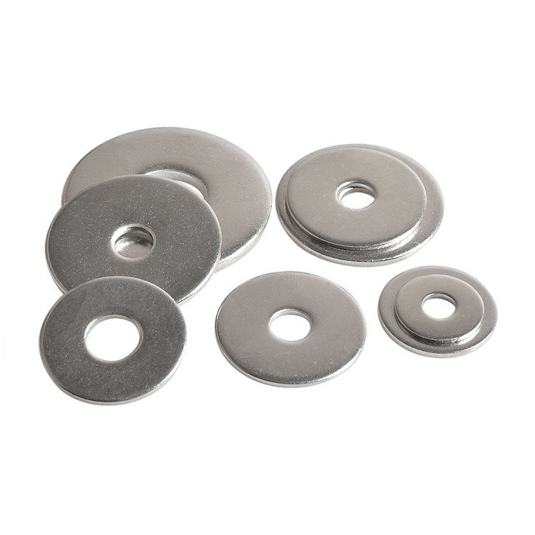 Carbon Steel Galvanized Large Plane Flat Thick Penny Washer