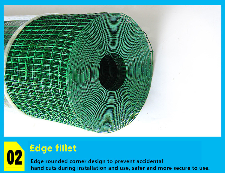 PVC-Coated Holland Wire Mesh Playground Fence