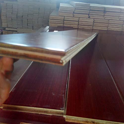 Teak Engineered Wood Flooring UV Lacuquer Smooth
