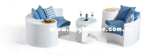 New Design Outdoor Wicker Furniture Sofa Set Bp-873e