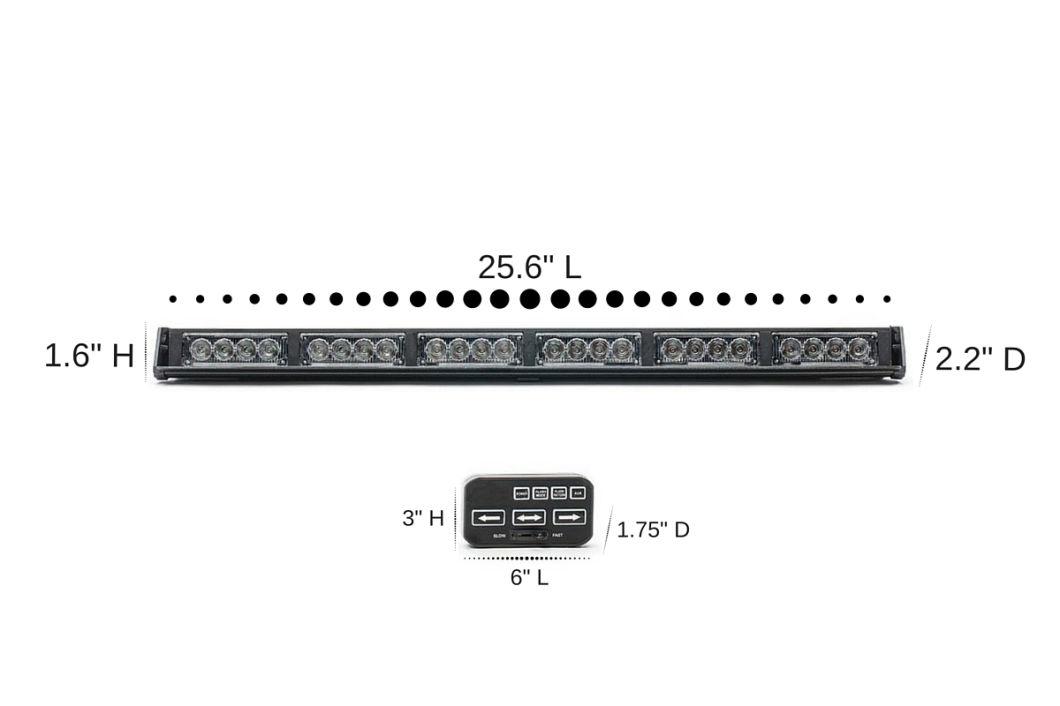 12V Police LED Light Bar/ Police Warning Lightbar