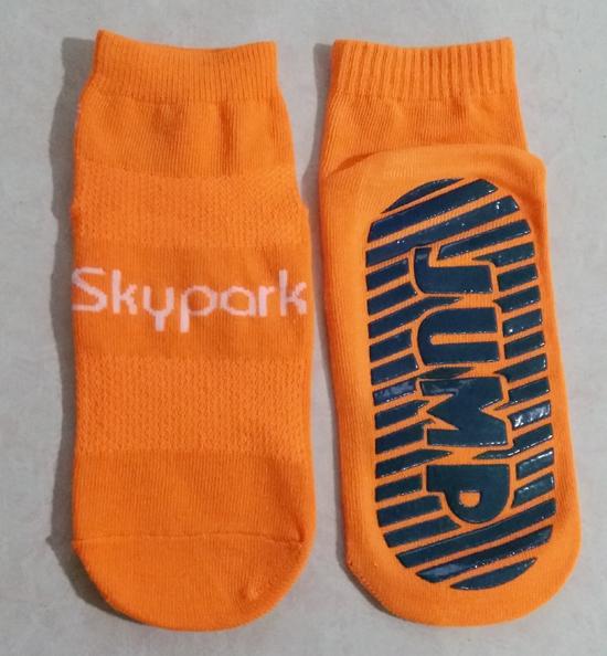 Jump Sock Is for Club Trampoline Socks Anti-Slip Non-Skid Floor Socks