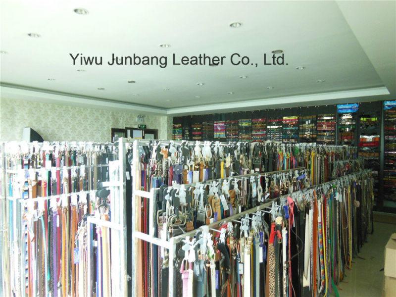 Hot Sell Ladies Bonded Leather Braid Belt