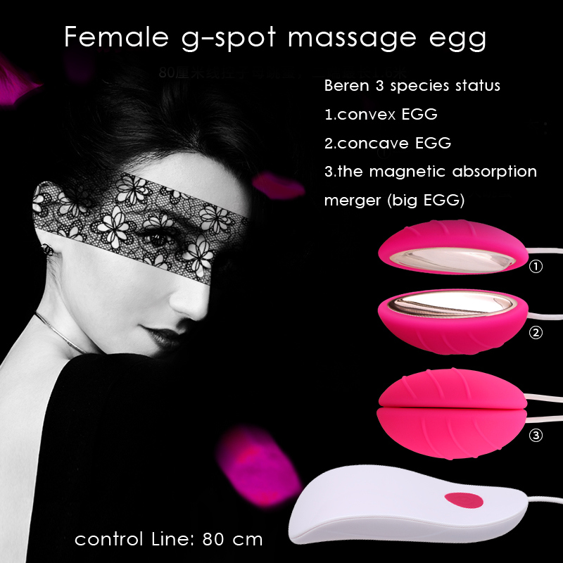 Wired Double Vibrating Magnetic Suction Eggs Vibrator Massager Sex Toys Vaginal Anal Orgasm Sex Products for Women Adult