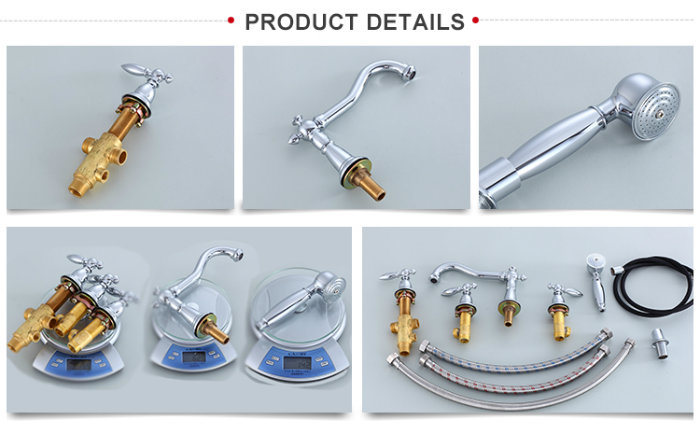 Cupc Approved Singe Handle Deck Mounted Bathtub Shower Faucet