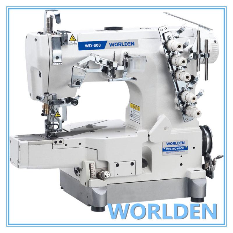 Wd-600-01CB High Speed Cylinder-Bed Interlock Sewing Machine