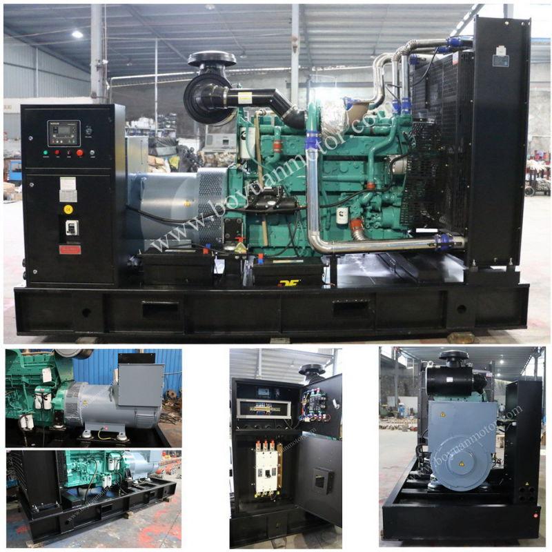 100kw/125kVA Dongfeng Cummins Diesel Engine Generator