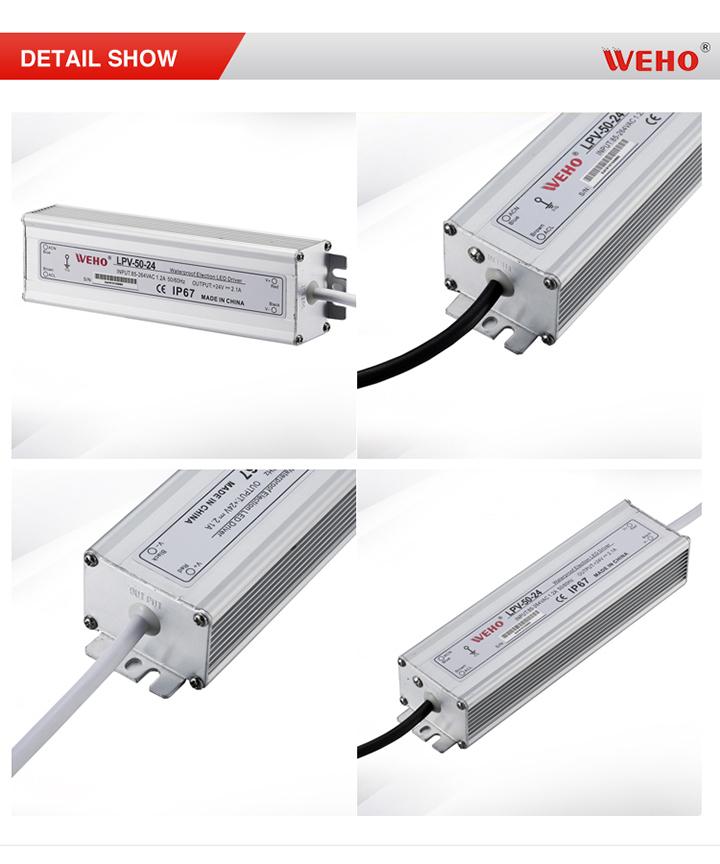 LPV-50-12 50W 12V 4.2A LED Power Supply for Lighting