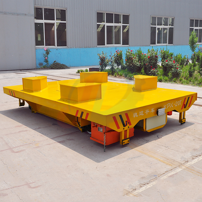 Mold Plant Battery Powered Driven 10t Transfer Vehicle for Sale