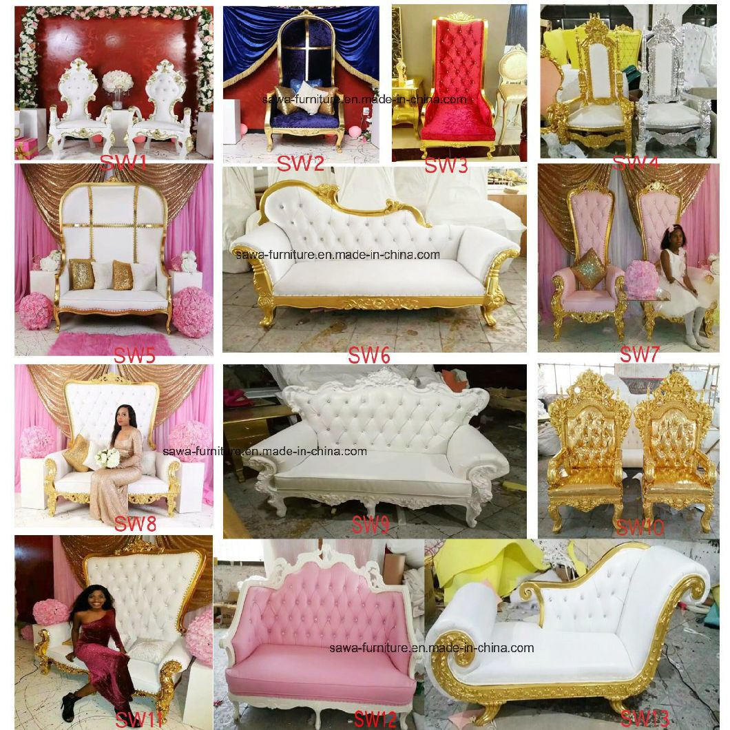 Wedding Royal Living Room Sofa Chair American Chair