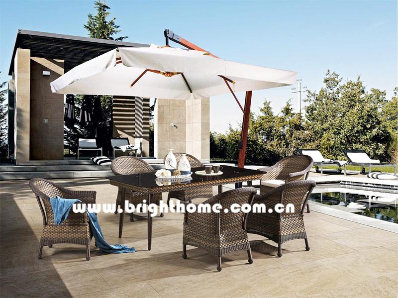 Hot Sale Wicker Outdoor Dining Furniture Bp-3017