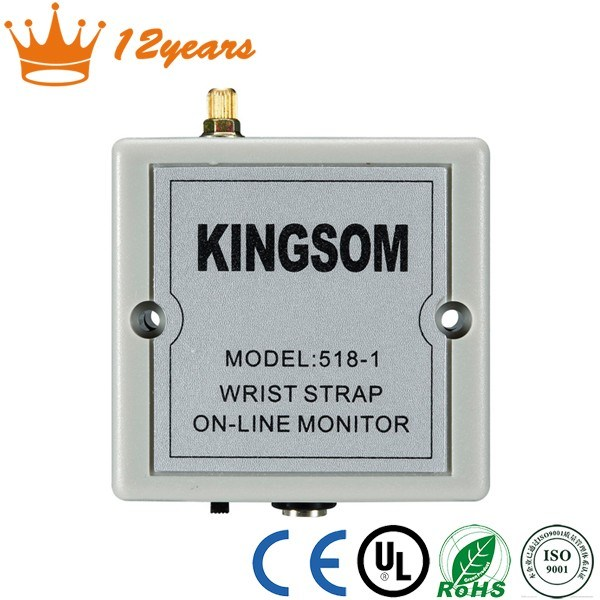 Automatic DC 6V Continuous ESD Online Wrist Strap Monitor