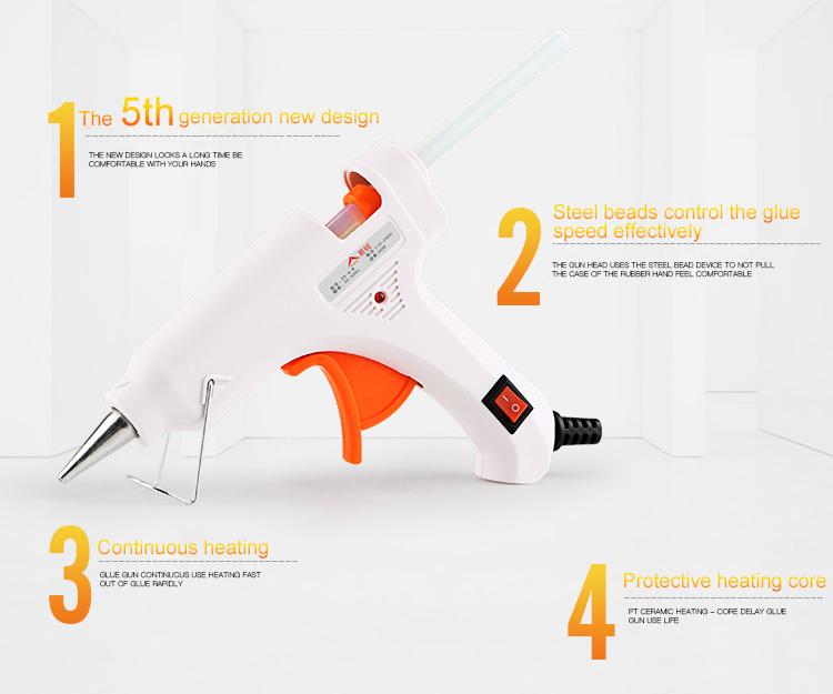 Wholesale Cheap Adhesive Mini Hot Melt Glue Gun with Glue Stick