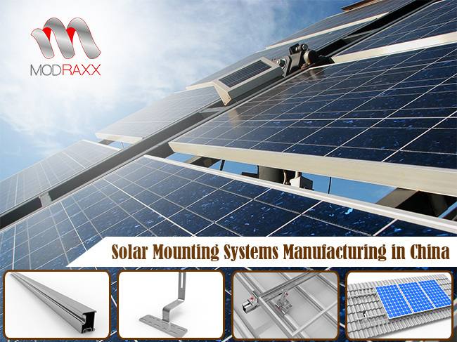 Green Power Aluminum Roof Mounting System (XL208)