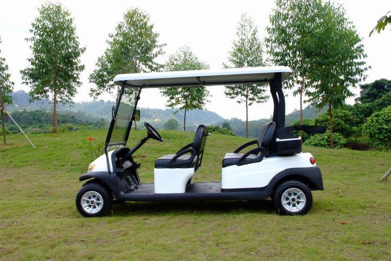 Ce Certificated 4 Seat Electric Golf Cart