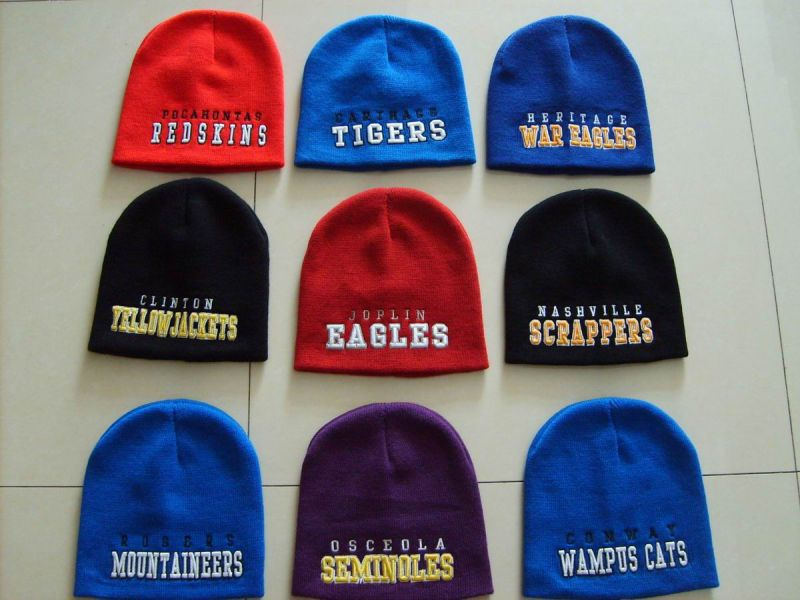 High Quality Acrylic Knitted Sublimation Printing Hat