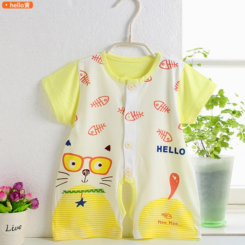 Cotton Baby Summer Romper Infant Apparel