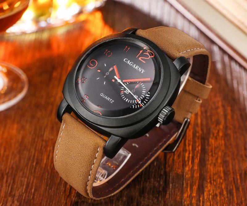 6833 5hands Luminous Multi-Function Quartz Watch