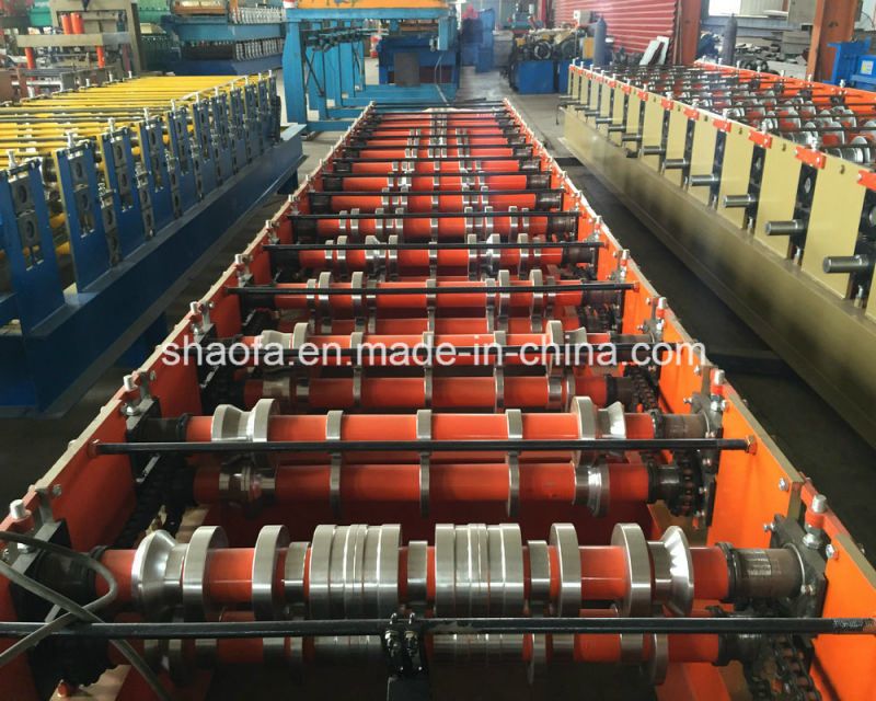 Corrugated Wave Steel Profile Roofing Sheet Roll Forming Machine