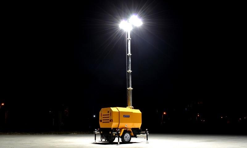Genlitec Power (GLT4000-9H) 9m Hydraulic Mast Lighting Tower with Perkins Engine