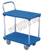 Stainless Steel Flat Plate Trolley in Hospital