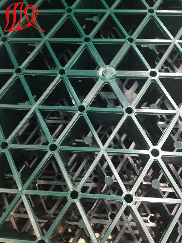 Green Color Grass Grid for Sale