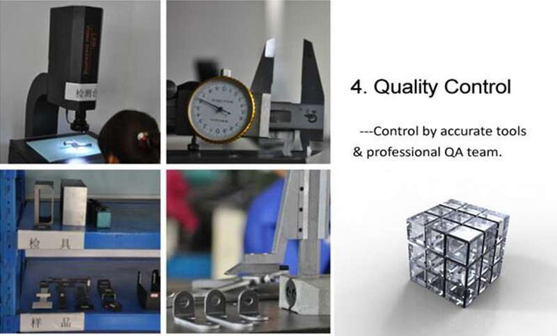 OEM Stainless Steel Stamping Parts with CNC Machining
