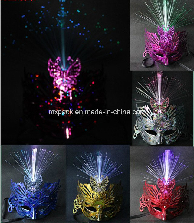 Factory Offer Price LED Light up Party Mask Masquerade Masks