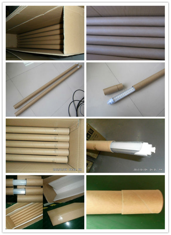 School Lighting 4 FT 120cm T8 White LED Tube Lights with UL