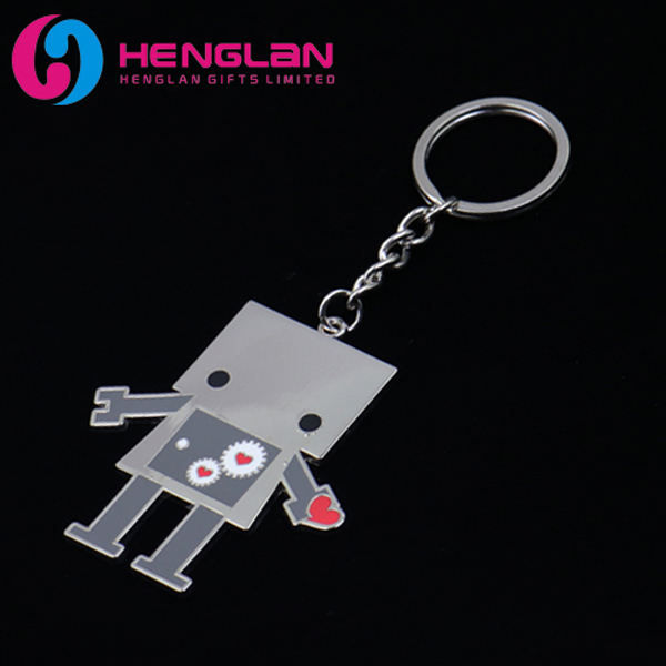 Silver Plated 3D Metal Alloy Microphone Keychain for Music Lovers