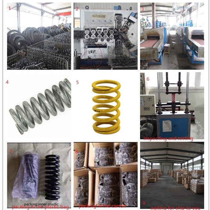 Stainless Steel Spring (Elastic Element) for Production Lines