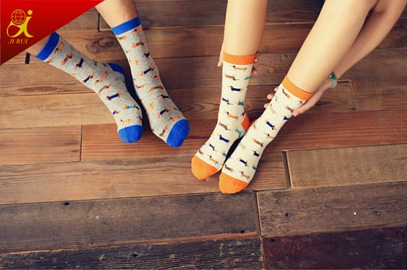 Cotton Couple Socks for Men and Women