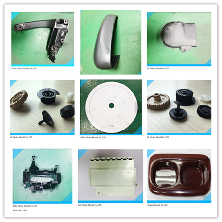 Plastic Auto Spare Part Handle Cover From Injection Mould