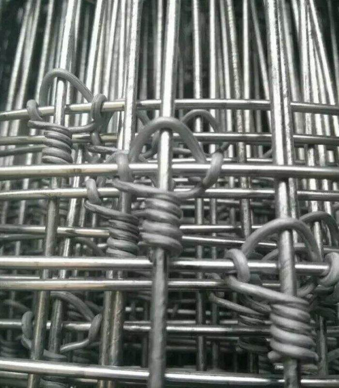 Galvanised Hinged Joint Cattle Fence