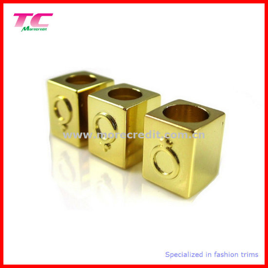 Screw Metal Toggle for Trouser Drawstring