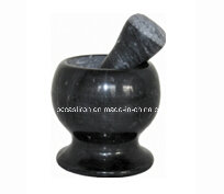 Marble Mortars and Pestles Size 10X10cm