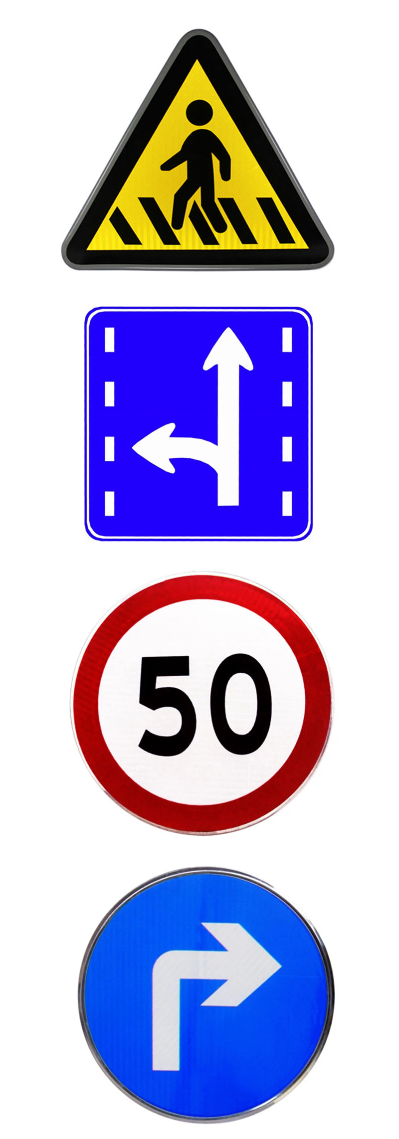 Cheap Wholesale Hot Sale Traffic Signs Safety Warning Signs