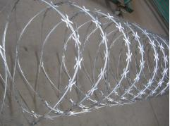 High Tensile Concertina Razor Barbed Wire for Border