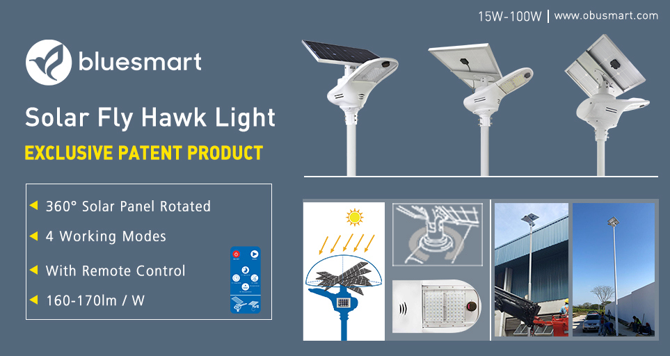 High Quality Solar Powered Street Lamp Products for Project Lighting