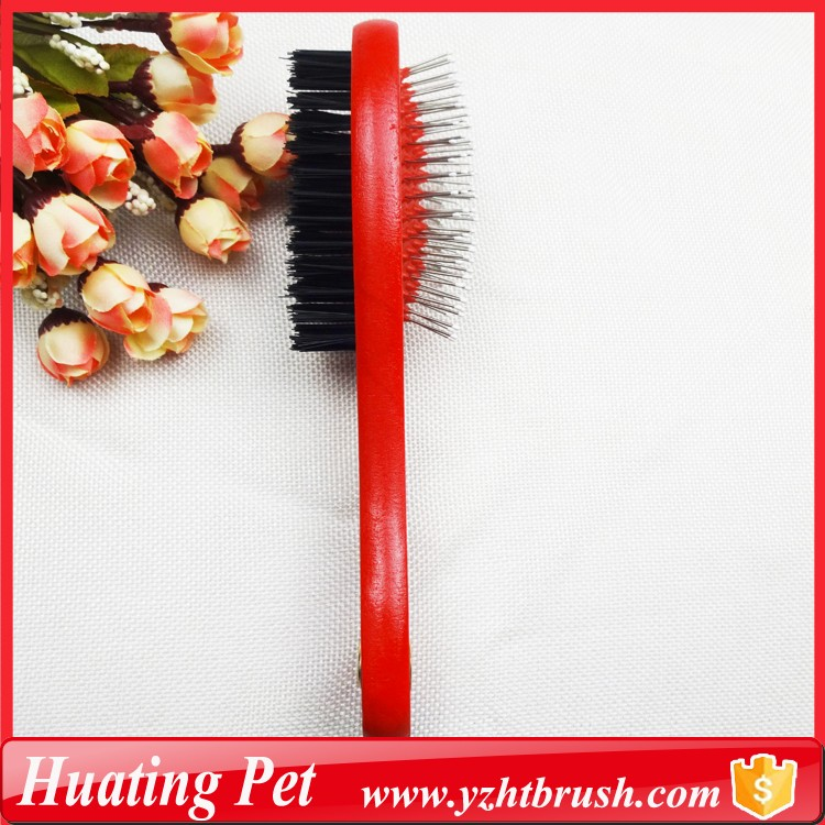 double use pet brush